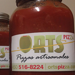 Ortspizza-sauce